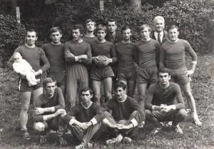 Férfi-kézilabdacsapat 1970 körül