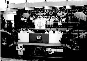 Március 15-i ünnepség a Dózsa György Úti Általános Iskolában
