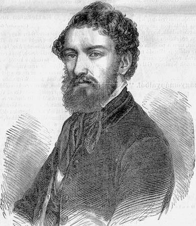 Kazinczy Gábor (1818–1864) író, politikus, a Magyar Tudományos Akadémia levelező tagja (Vasárnapi Ujság, 1859. november 13.) Forrás: Wikipédia