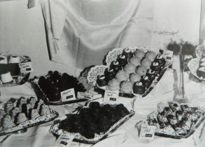 Pingvin, tyúkcsemeg, narancsfánk, csokicsemege, eperrúd