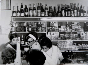 A Mazsola dolgozói 1970 körül