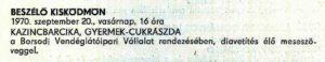 8. Gyermekcukrászda - 1970.09.20