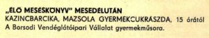 9. Mazsola - 1971.09.19.