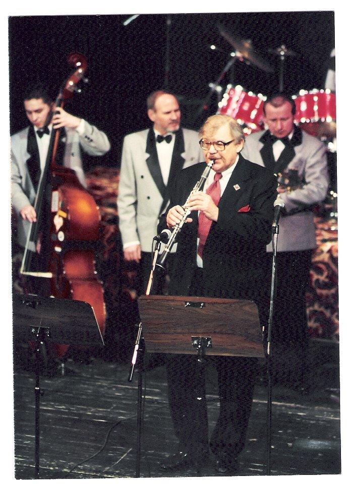 A jó öreg Joe Murányival 1993. február 16-án a Miskolci Nemzeti Színházban