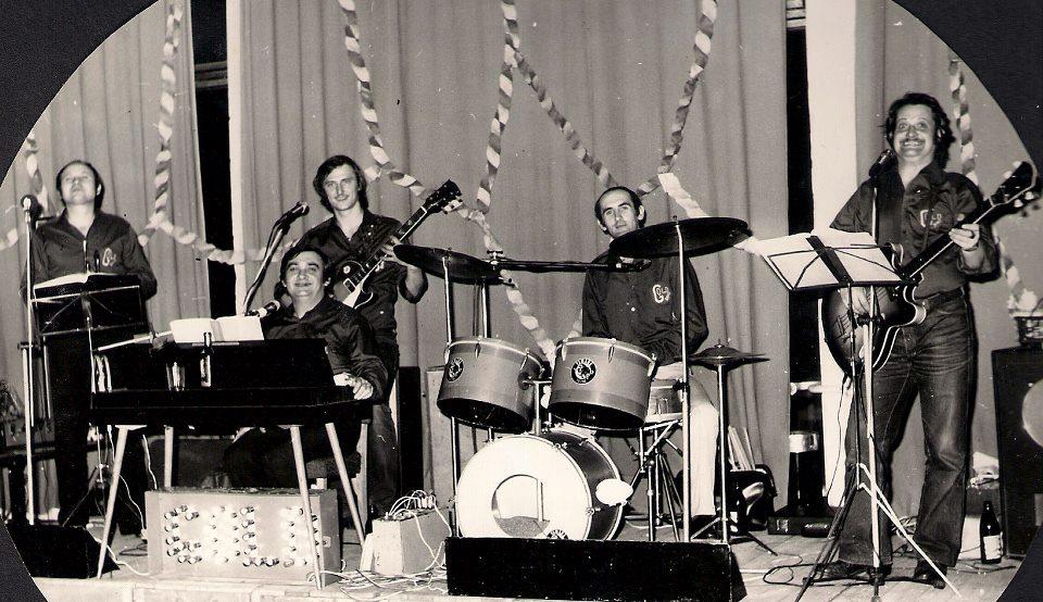 1986-os fotó a GOLD együttesről