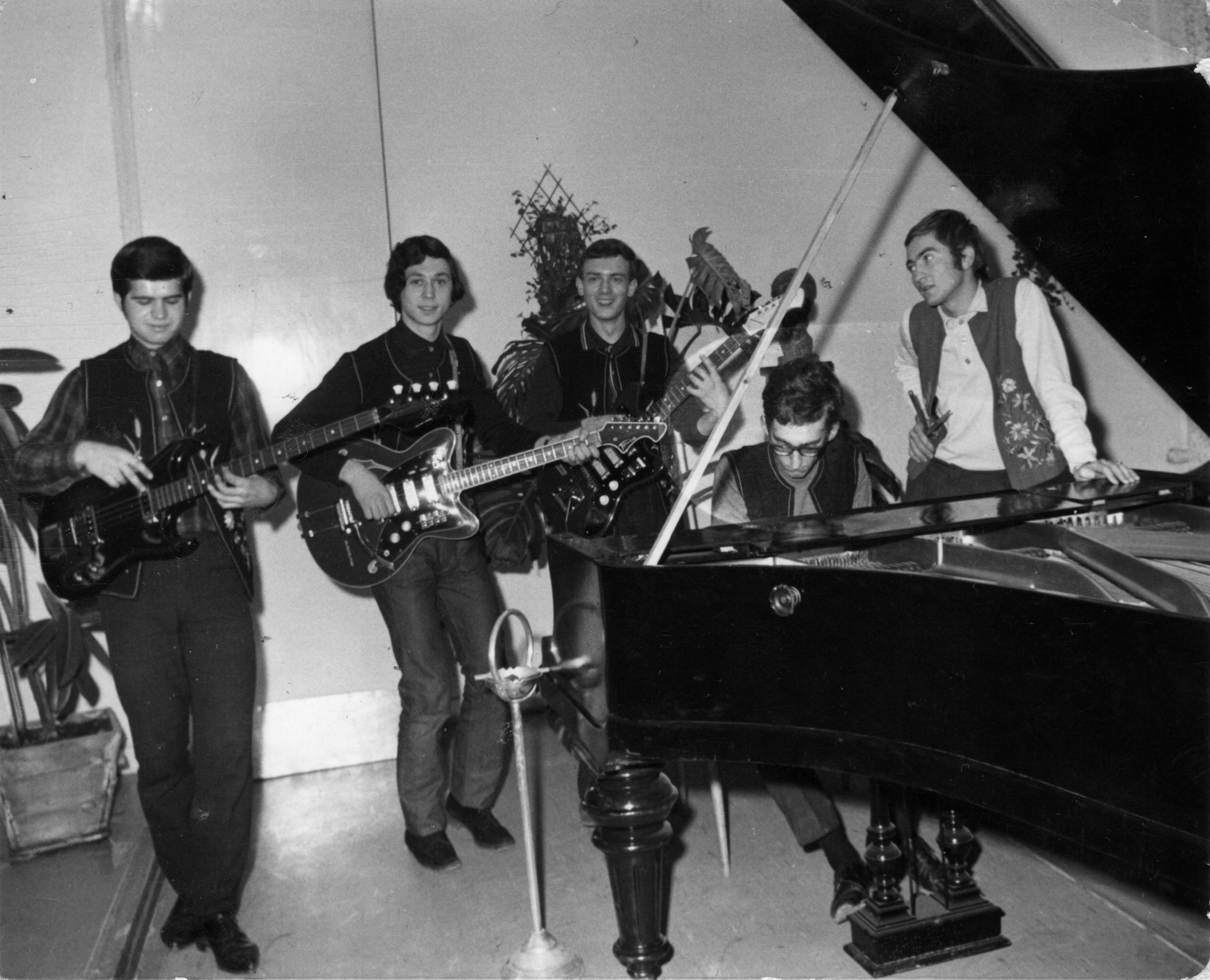 Az Anonymus együttessel 1969-ben