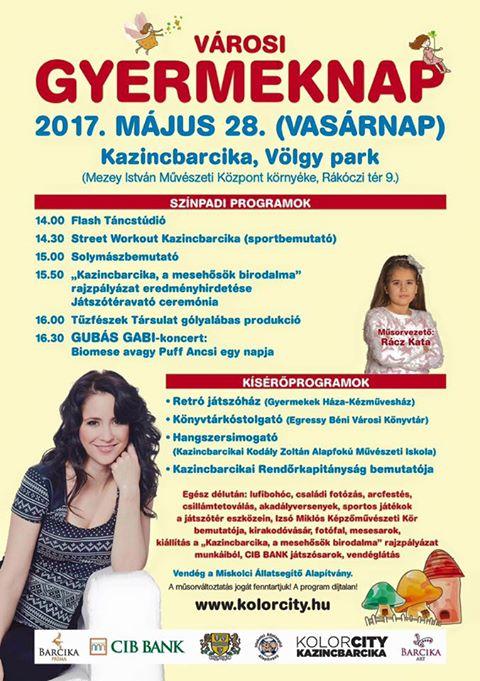 Városi gyermeknap @ Völgy park | Kazincbarcika | Magyarország