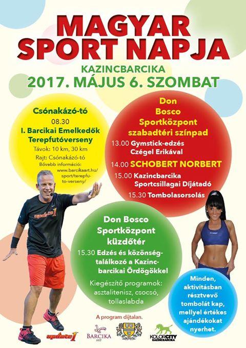 Magyar Sport Napja @ Kazincbarcika | Kazincbarcika | Magyarország