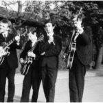Slamóék 1966-ban a 105-ös zenekaraként - Ózdon