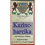 Kazincbarcika információs térképe 199X