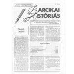 Barcikai Históriás újság
