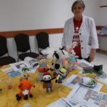 Amigurumi minikiállítás az Újkazinci Baráti Körben