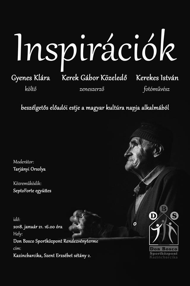 Inspirációk @ Don Bosco Sportközpont | Kazincbarcika | Magyarország