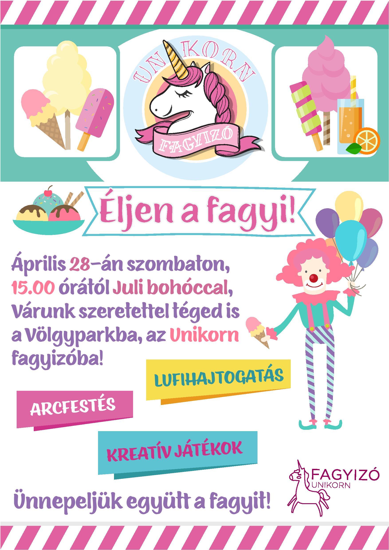 Éljen a fagyi! @ Unikorn fagyizó | Kazincbarcika | Magyarország