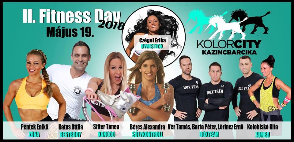 II. Fitness Day Kazincbarcika @ Kazinczy Sportcsarnok  | Kazincbarcika | Magyarország