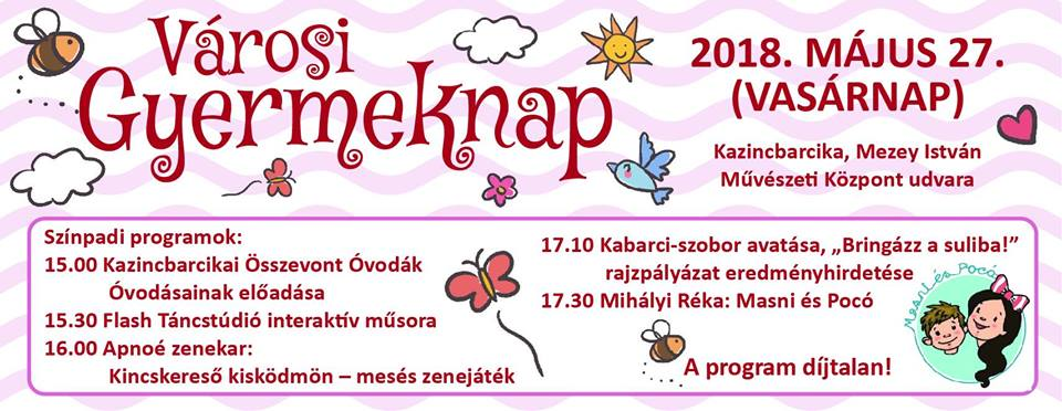 Városi Gyermeknap @ Kolorcity | Kazincbarcika | Magyarország