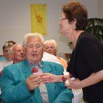 Férfinap, kiállítás és Tóth Jani bácsi 80. születésnapi köszöntése az Újkazinci Baráti Körnél