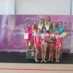 Ritmikus gimnasztika diákolimpia országos döntő Kazincbarcikán
