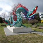 A Fradi-sastól a kínai sárkányig, Atlantától Kazincbarcikáig - Szőke Gábor Miklós szobrai