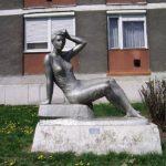 A szobrok városa alkotói: Puskás Éva